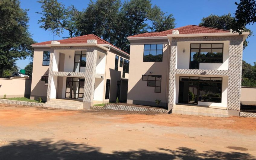 Newly built flats double storey flats for rent 3 bedrooms can be ideal for offices
