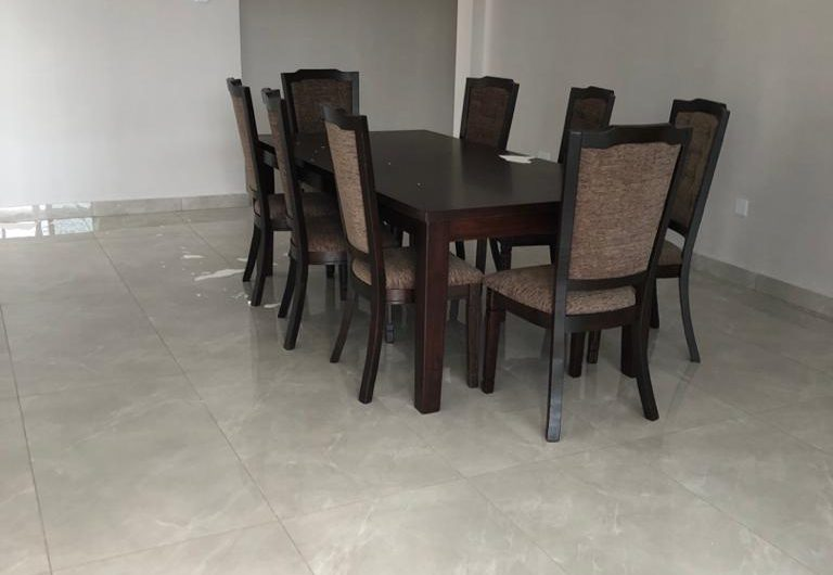 3 bedrooms newly built fully furnished flats for rent