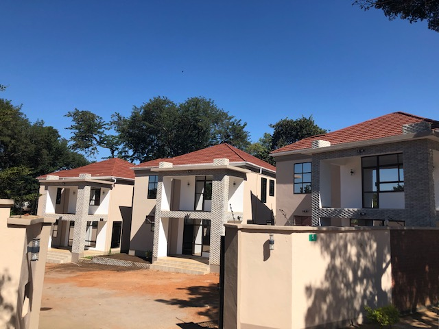 Double storey flats three bedrooms each for rent